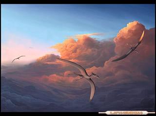 Dinosaurios Voladores Y Saur�podos