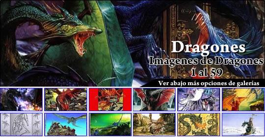 Galeria de imagenes de Dragones