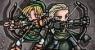 Link y Legolas