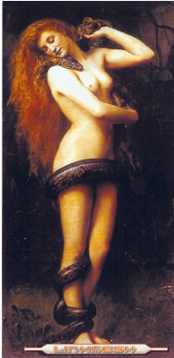De acuerdo con los textos hebreos, Lilith fue la primera mujer de Ad?n, a diferencia de lo manifestado en el Antiguo Testamento b?blico